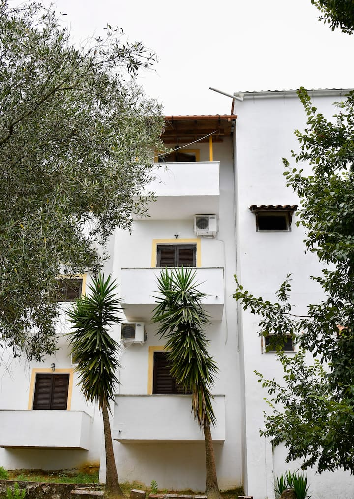 Corfu Room apartments,in a lush greeness hill
