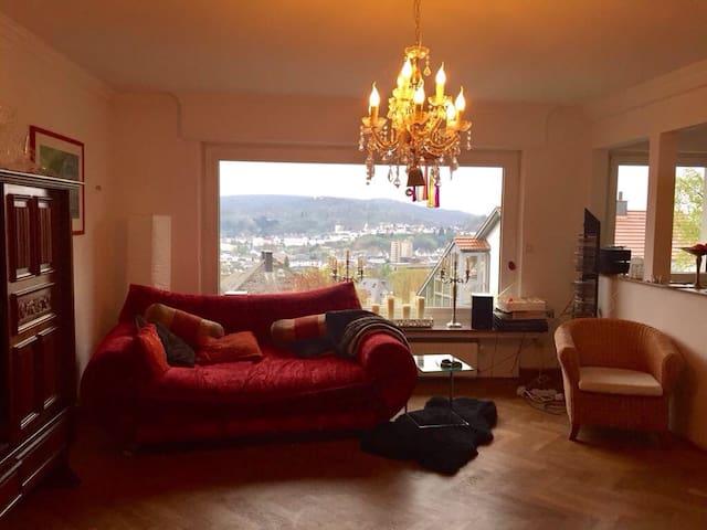 Ruhe in herrlicher Arnsberger Lage mit Ausblick - Arnsberg - Apartment
