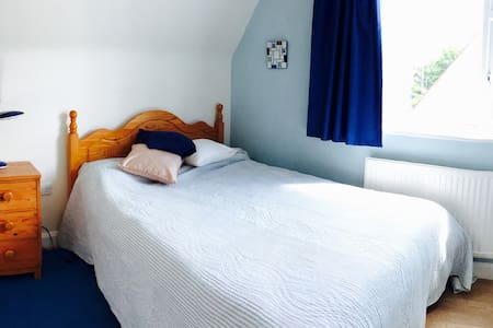 Cosy, comfortable, clean & bright double bedrooms. - Deganwy
