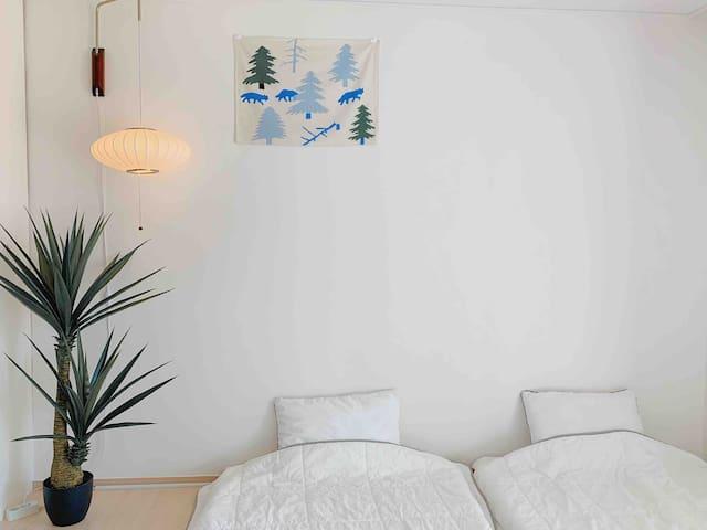 홍성내포-딜라잇게스트하우스[ROOM1_2인실/화장실]