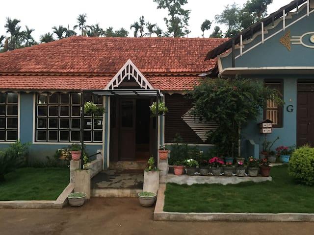 Guest house main entrance.