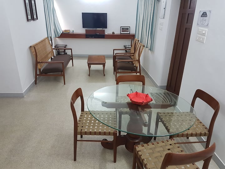 Peaceful Pondy Homestay : 2BHK Near French Town