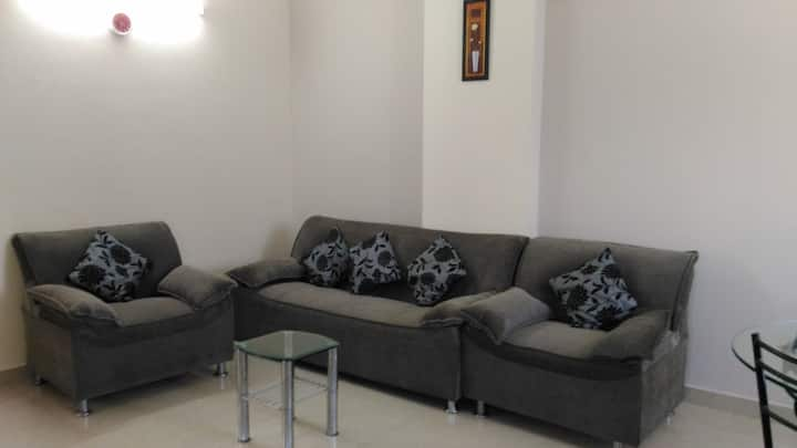 1 BHK Penthouse apartment in Central location