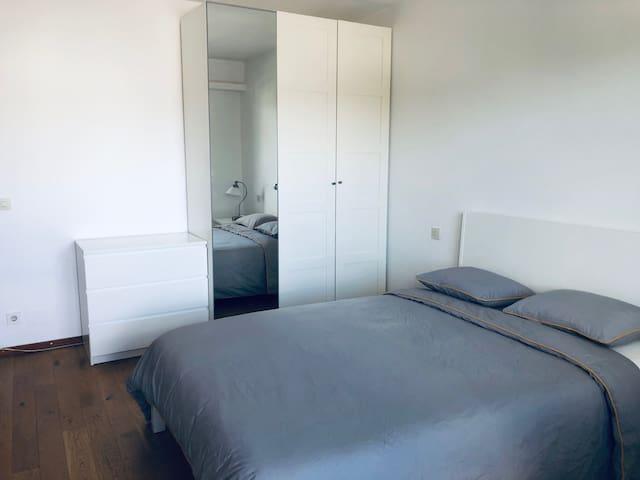 sleeping room nr 2 ( bed 160 x 200cm)