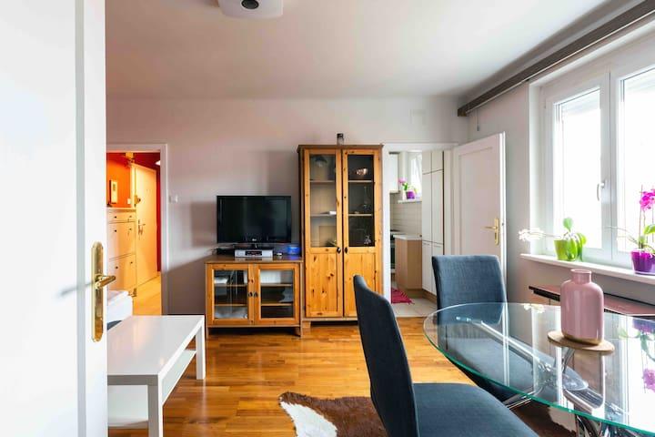Sunny bright Living room