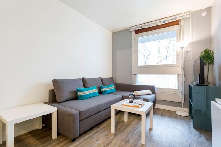 Lovely studio apartment in Montparnasse - Paris - Apartemen