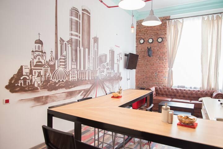 Male room/мужская комнатаRedLine hostel
