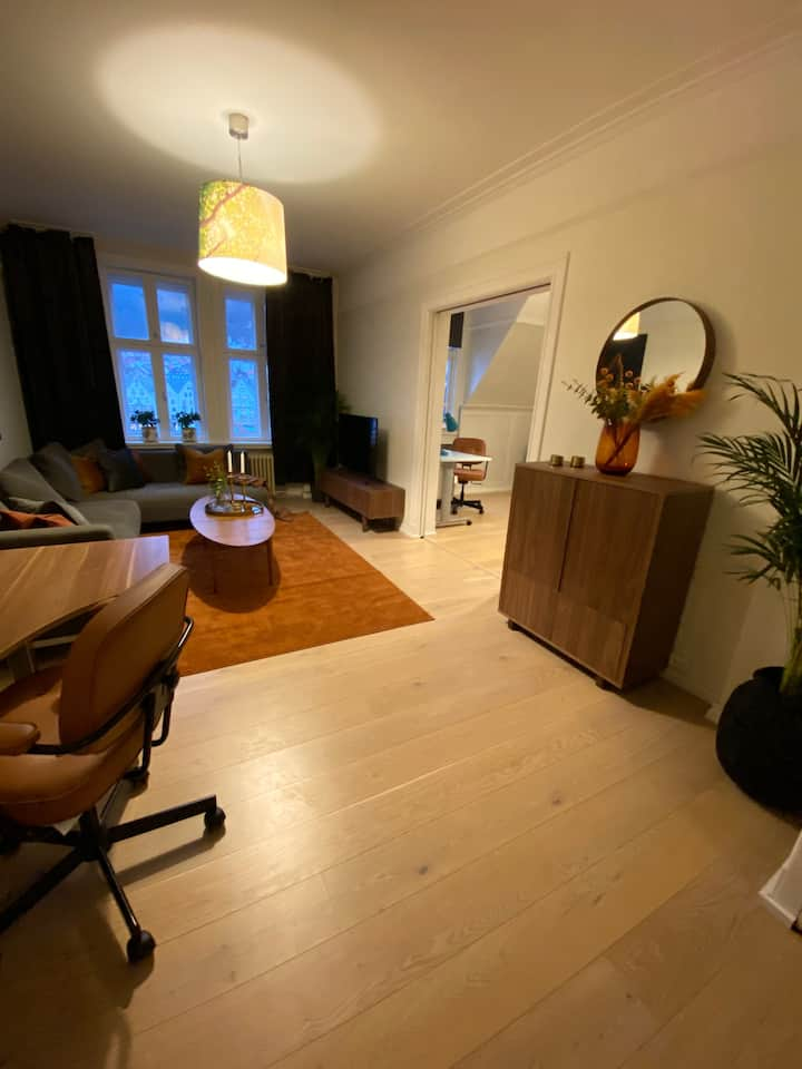 Central apartment in Bergen with beautiful view