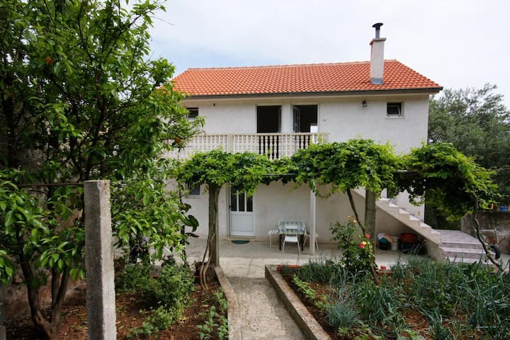 Studio flat with balcony and sea view Ropa, Mljet (AS-4944-c)