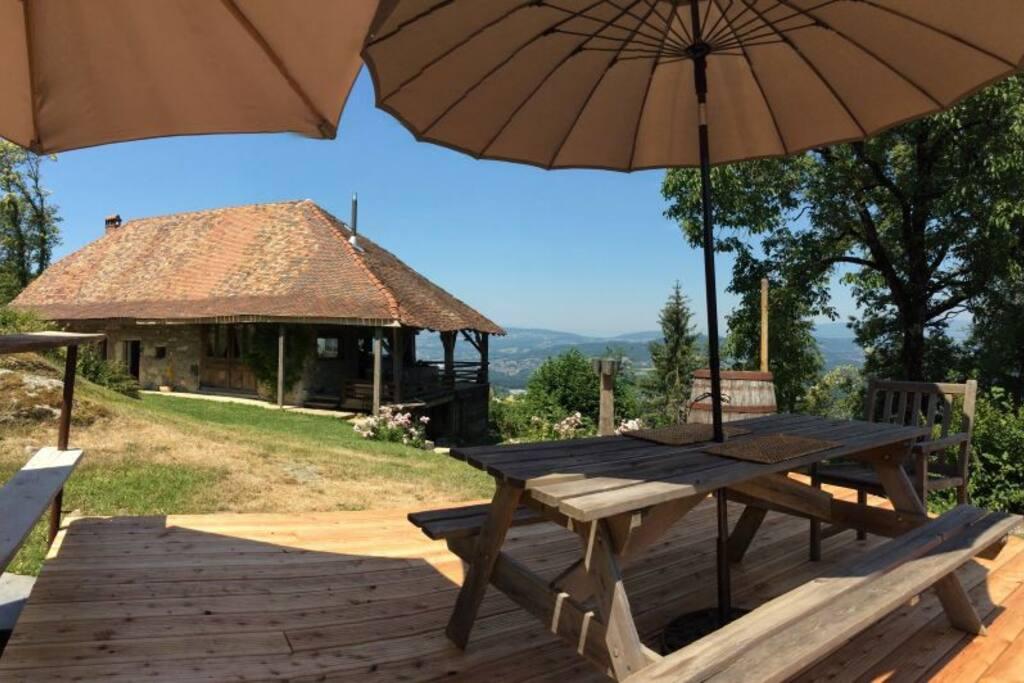 Maison foresti re du mont veyrier maisons louer for Annecy maison a louer