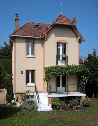 Villa des Chats-Chambre avec Salle de Bains privée