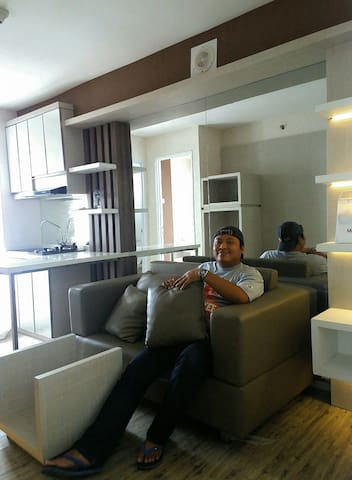 Bassura City, 2br, City View - East Jakarta - Daire
