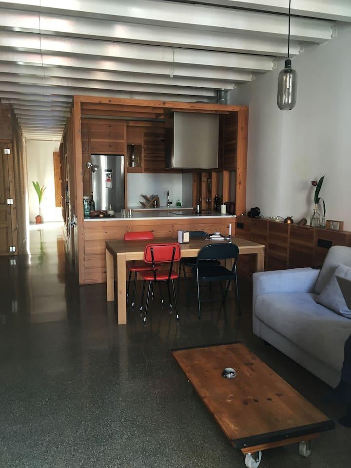 Loft encantador, Barcelona- Gracia