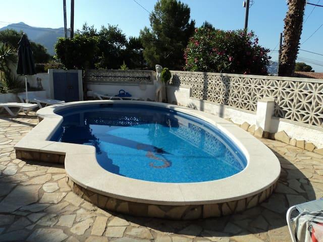 Appartement dans villa avec piscine - El Mas Fumats - Daire