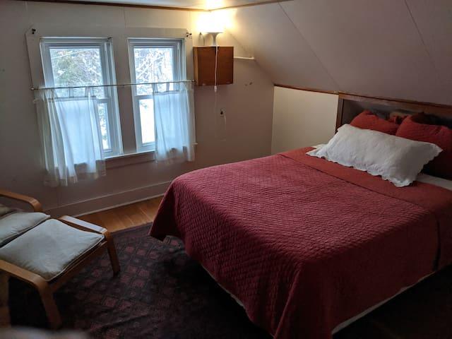 Cozy little attic in a cozy little town!