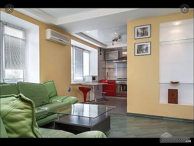 3х комнатная квартира с видом на реку Днепр