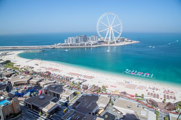 Stay at number 1 beach in Dubai