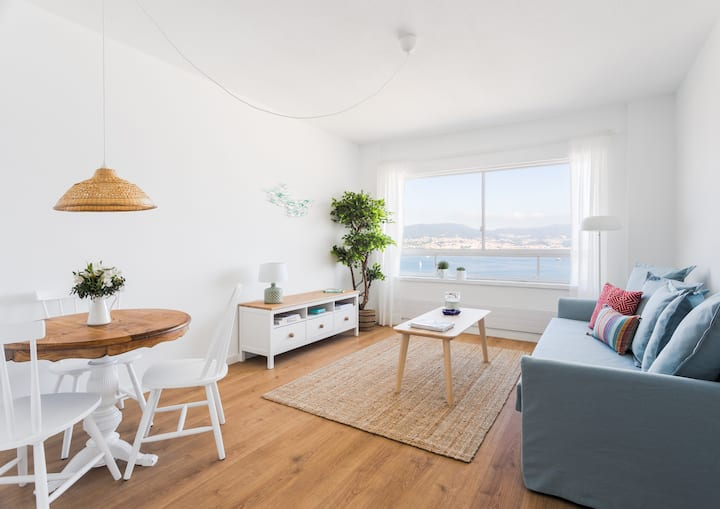 Lovely apartment overlooking the Bay of Vigo