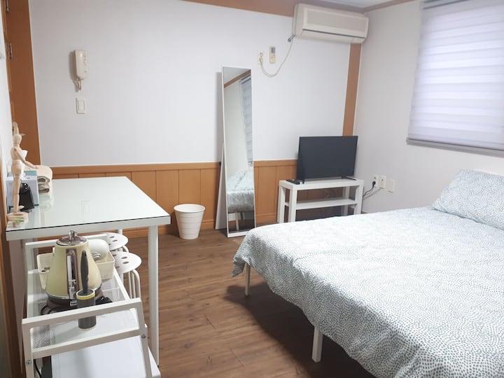 [쉼#1 하우스]루지!케이블카 인근!편한 친구집처럼 편안한 휴식처^^코로나 대비 방역!
