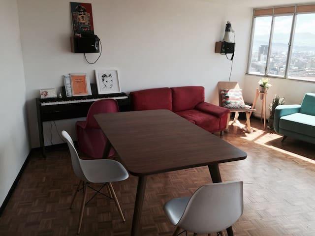 Arriendo cuarto en las Torres del Parque piso 18! - Bogotá - Apartment