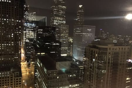 Downtown studio with prefect view - Chicago - Appartement