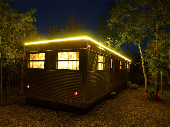 The Villa Vintage Trailer at Tin Can Acres