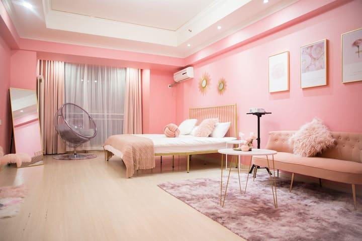 万达广场-沐舍公寓【简爱】