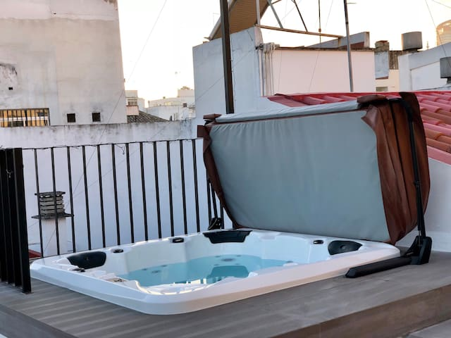 Rooftop Spa