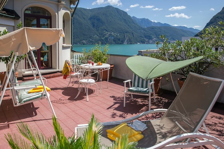 Panorama penthouse, incl. free Ticino Ticket