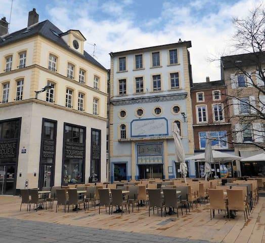 Studio hyper-Centre de Thionville proche Gare SNCF