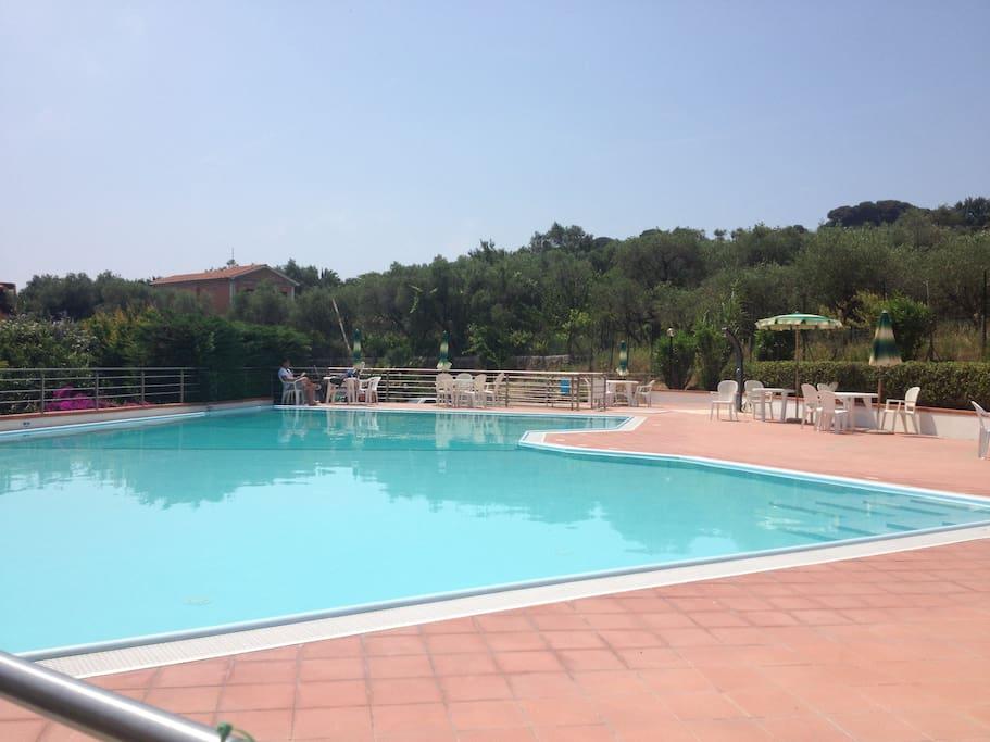 Residence vista mare con piscina case in affitto a san - Residence a san candido con piscina ...