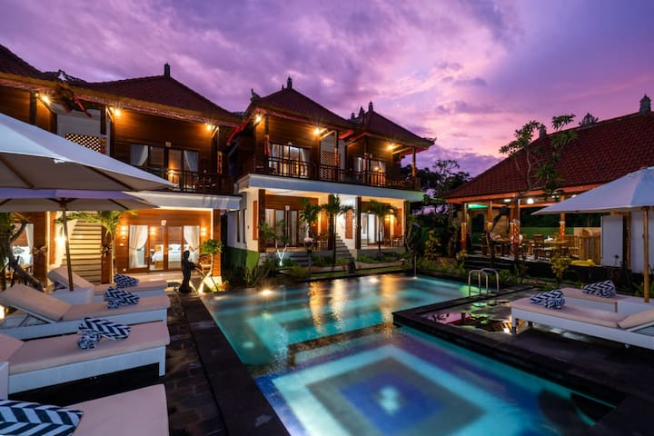 Lembongan Luxury Villa Just 5 minute to the Beach