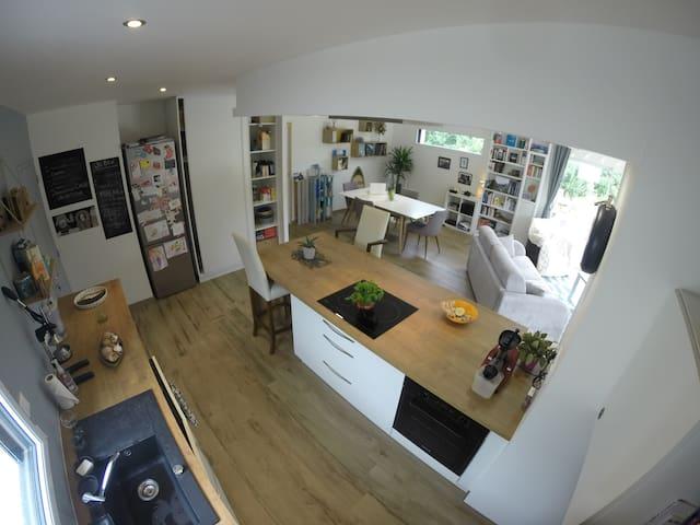 Maison à 15 min de Brest et 5 min des Plages - Loperhet - Casa