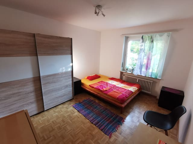 Private room near City/SBB/EuroAirport (8min)