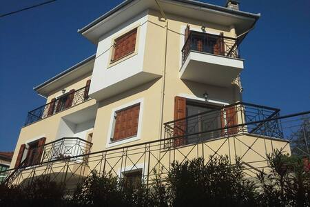 Seaside newly built house in Pelion - Αφυσσος - 一軒家