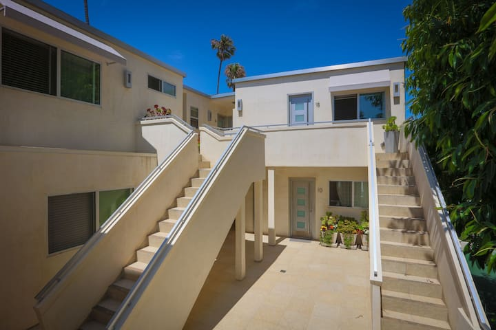 Steps to beach,  a fully equipped studio apt