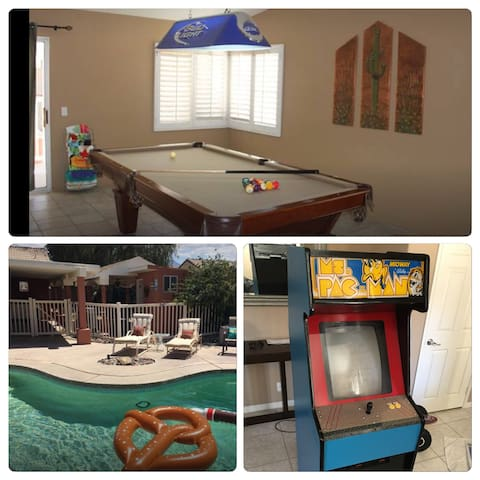 3.2miles from Festivals Pool, Spa, & Pac-Man game!