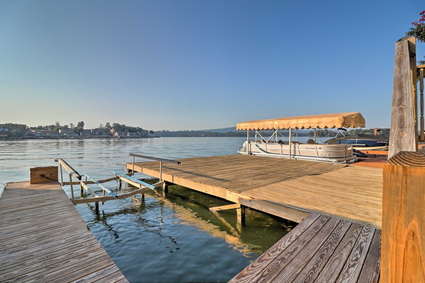 Lake days await with other attractions ready for your arrival as well.