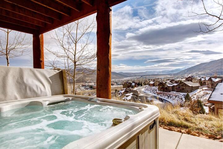 Luxury Park City Home w/ Hot Tub