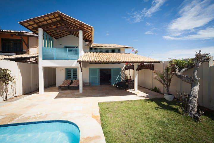 Casa maravilhosa frente mar
