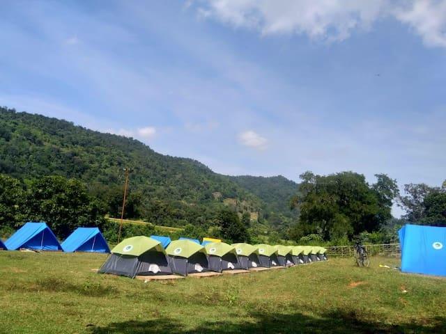 Riverside Campground at Araku Valley