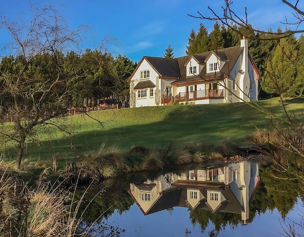 ALNWOOD Stunning new build set in private woodland