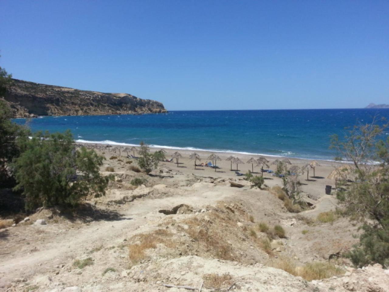 The Komos Beach  close to