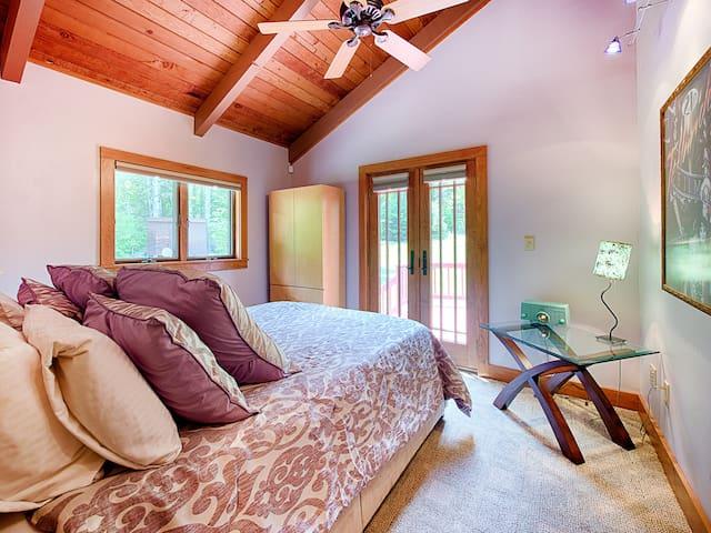 Bedroom #3. Queen bed, main floor.