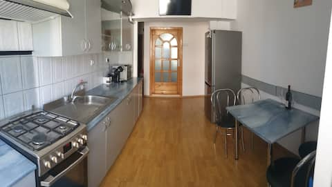80mp apartment close by the city center