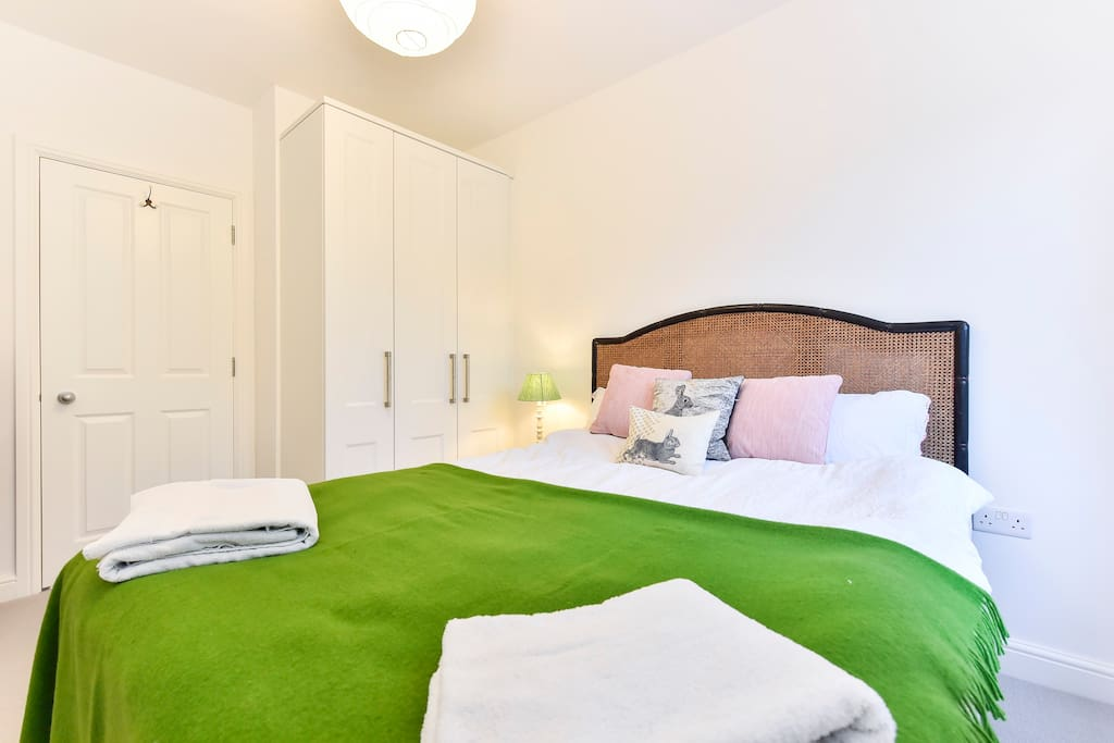 Bedroom 1 comes with plenty of storage space