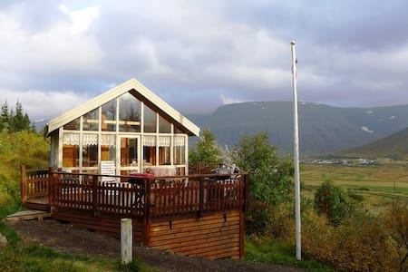 Beautiful cabin in Tunguskógur - House