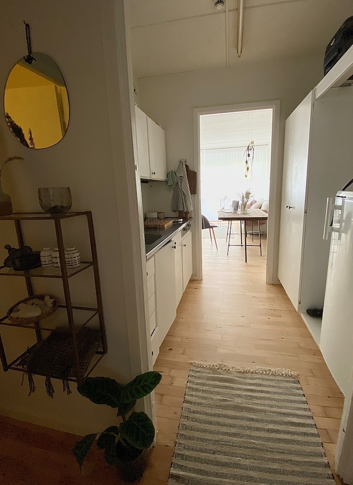 Studieapartment with own kitchen and toilet