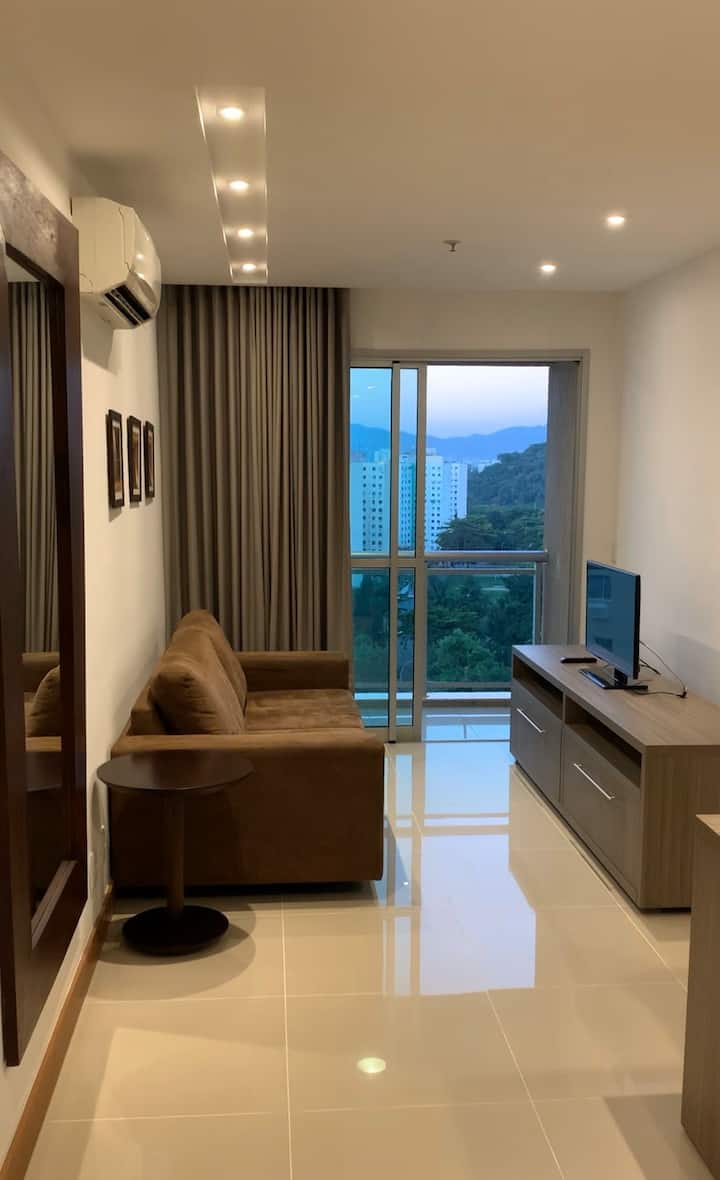Apartamento Totalmente mobiliado e com estrutura