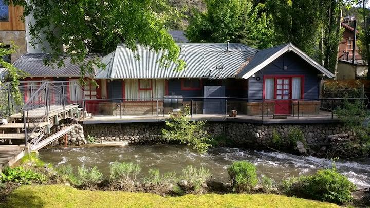 Rincón del Arroyo Trabunco Cabaña en S.M.Andes